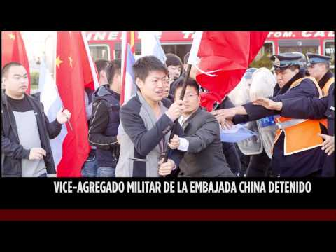 Visita de Xi Jinping y agresiones a practicantes de Falun Dafa en Argentina