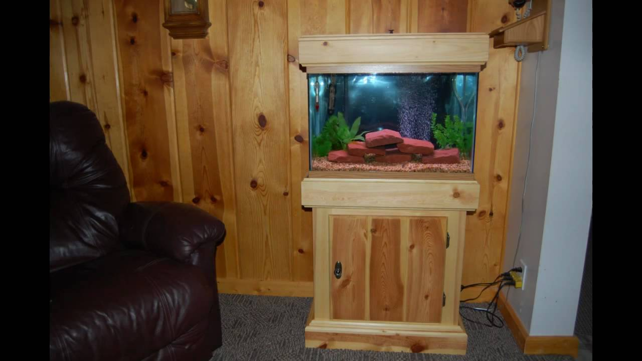 DIY Fish Tank Stands