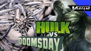 Hulk VS Doomsday: Epic Battle!
