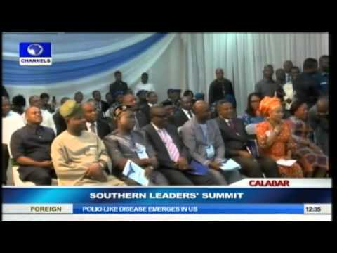 Southern Leaders brainstorm over the challenges of Devt. & Nat'l Security pt.4