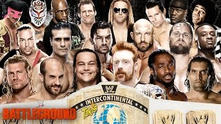 WWE Battleground 2014 Intercontinental Championship Battle