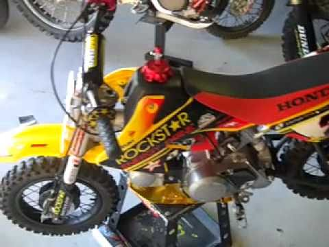 Custom Honda CRF 50cc Pee Wee Race Bike
