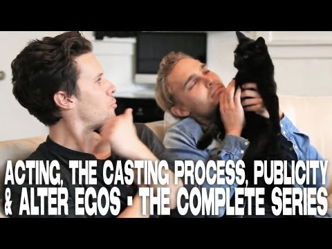 Kris Lemche & Joey Kern on Acting, The Casting Process, Publicity & ALTER EGOS - The Complete Series