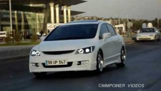 Honda Civic FD2 White MMPower Project Cool Video videos