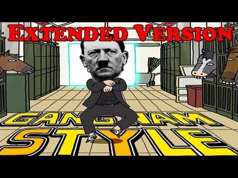 Hitler - Gangnam Style PARODY - Extended Full-Version ( 4 Minutes )