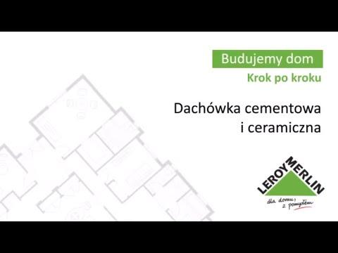 Dachówka cementowa i ceramiczna