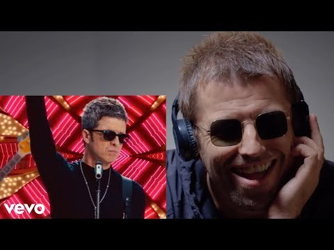 Liam Gallagher Reacts to Noel's New Song!