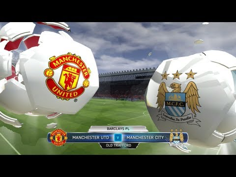 FIFA 14 Man Utd vs Man city - The Manchester Derby