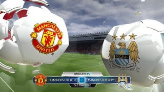 FIFA 14 Man Utd Vs Man City The Manchester Derby
