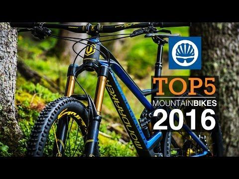 Top 5 - 2016 Mountain Bikes
