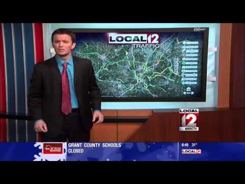 Traffic Reporter Delivers Winter Weather Warning With a 'Let It Go' Parody