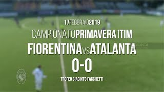 Primavera, Fiorentina-Atalanta 0-0: gli highlights