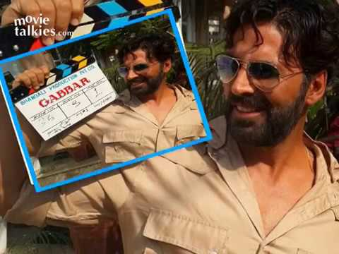 Akshay Kumar Starts Shooting For 'Gabbar'