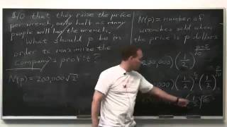 Worldwide Calculus: Optimization