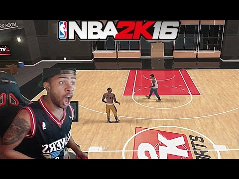 NBA 2K16| TRASH TALKER EXPOSES PRETTYBOYFREDO!! 1v1 MYCOURT!! THE REMATCH!!  PT 2