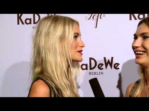 "KaDeWe Berlin - Opening ""The Loft"" with Poppy Delevingne (2012)"