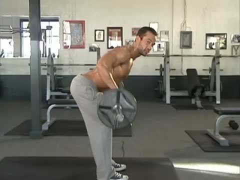 Jud Dean - Bent-Over Barbell Row & Swiss Ball Cable Row