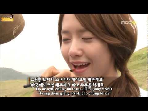 [HD][Vietsub]Yoona(MBC Special Korean Beauty) 2012/07/06