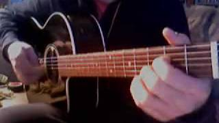 The Good, The Bad And The Ugly Cover On Acoustic Guitar