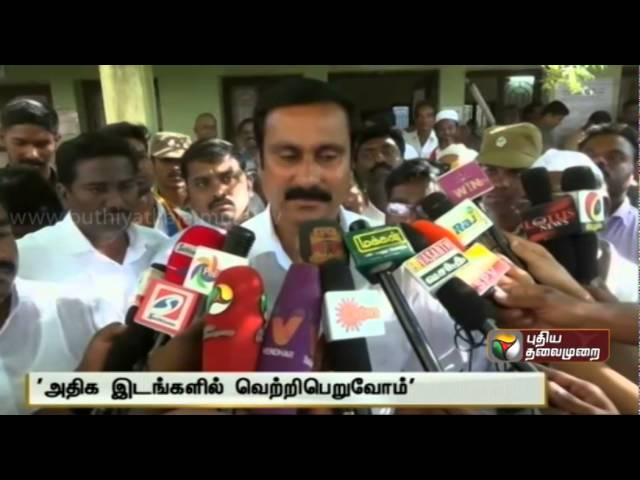 TN Political Leaders cast their Votes