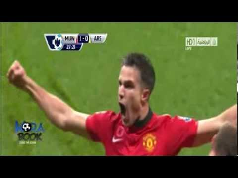 Manchester United 1 - 0  Arsenal (All Goals & Highlights HD 10/11/2013)