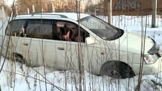 По снегу на GAIA