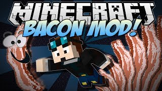 Minecraft | BACON MOD! (Bacon Trees, Rainbow Bacon, Sloths & More!) | Mod Showcase