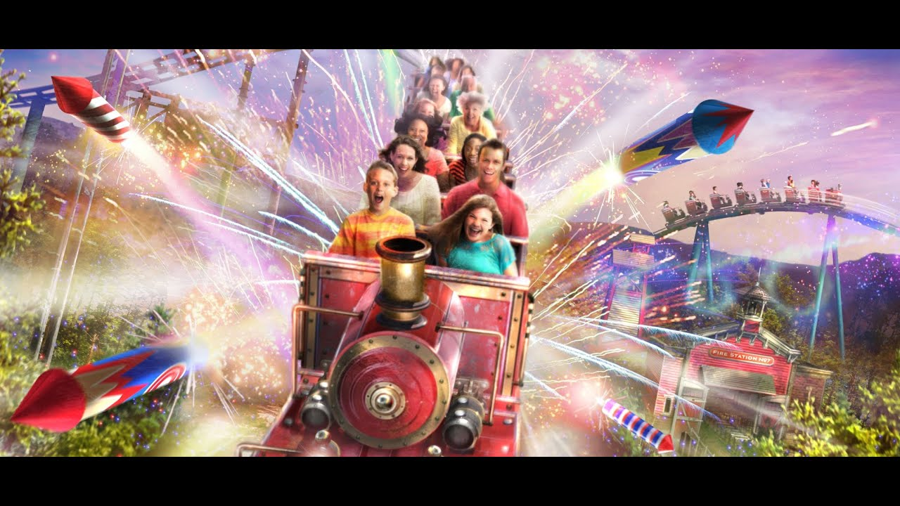... Express Roller Coaster Teaser Video Dollywood New 2014 - YouTube