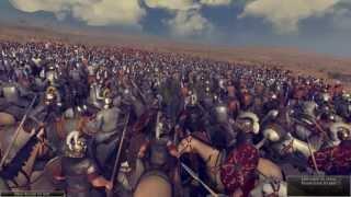 Total War: Rome 2 - 6.400 Royal Cataphracts vs 6240 Praetorian Cavalry [1080p/HD]