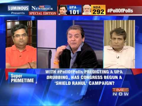 The Newshour Debate: 'Shield Rahul Gandhi' strategy - Part 2 (13th May 2014)