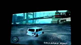 Une Voiture Roule Sur L'eau Dans GTA Vice City Stories Su