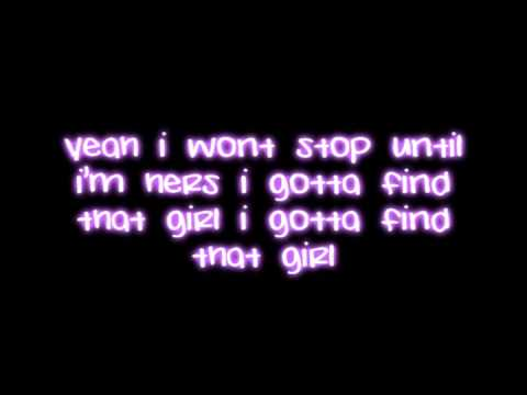 Find That Girl -  The Boy Band Project (lyrics on screen)