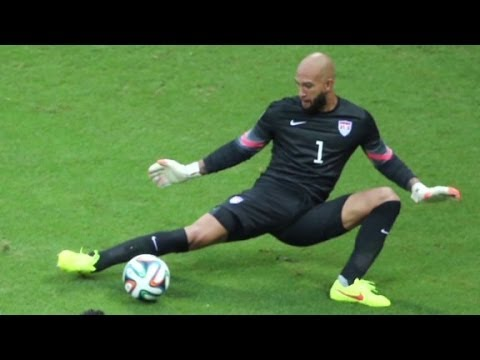 Tim Howard's amazing performance despite Tourette...