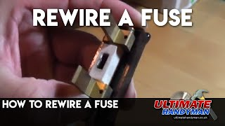 How to rewire a fuse