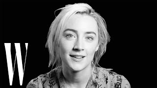 Saoirse Ronan on Lady Bird, Kristen Wiig's Gilly, and the Golden Globes | Screen Tests | W Magazine