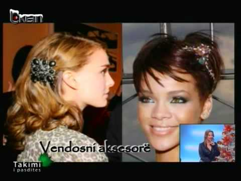 Floriana Garo - Modelet e flokeve dhe grimi per festa