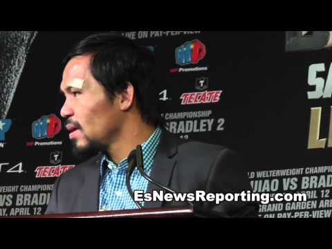 Manny Pacquiao Wants Floyd Mayweather Next!