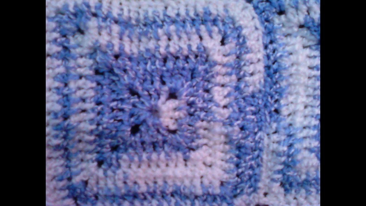 ... (para colchas y frisas) -Tutorial de tejido crochet - YouTube