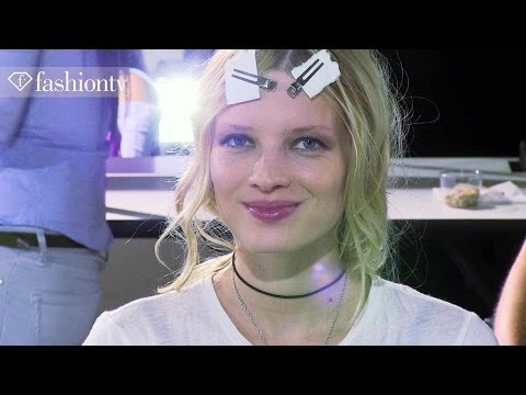 Irfe Spring/Summer 2014 BACKSTAGE | Paris Fashion Week PFW | FashionTV