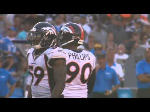 Denver Broncos Locker Room Interview After Game vs San Diego Chargers Nov 10, 2013