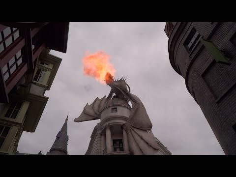 The Wizarding World of Harry Potter - Diagon Alley Overview Universal Orlando Resort