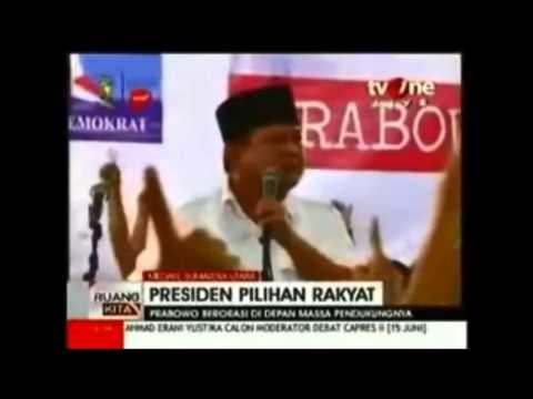Siapa Lebih Menggelegar: Orasi Prabowo vs. Arya Wiguna?
