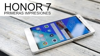 Honor 7, toma de contacto