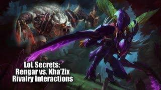 LoL Secrets: Rengar Vs. Kha'zix Rivalry Interactions [In