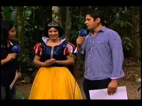 Show das princesas é realizado em Manaus