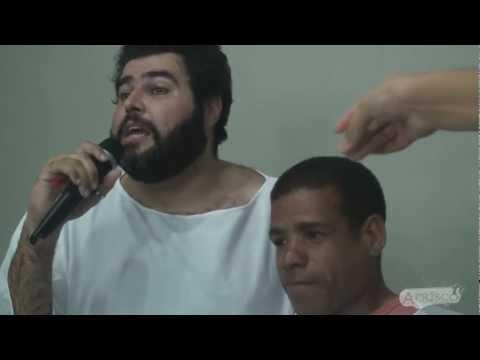 Primeiro batismo na Sede nova do Aprisco Feira de Santana-Ba  - Tv Aprisco