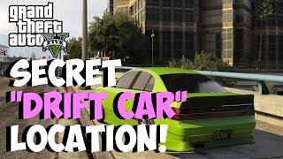 "GTA 5 Online Secret ""DRIFT CAR"" Spawn Location! Karin"