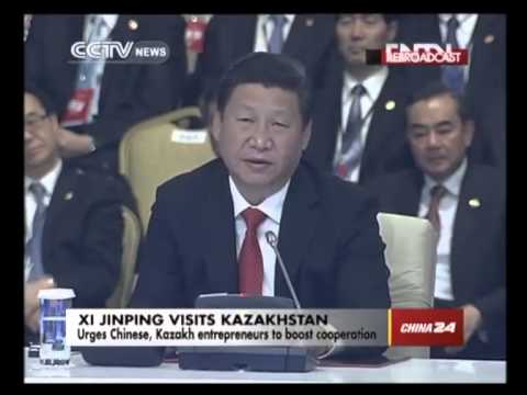 Chinese President Urges Chinese,kazakh Entrepreneurs to Boost Cooperation