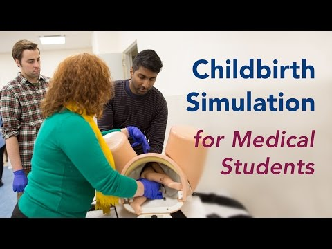 Birth Simulator Mannequins Deliver Training to Medical Students and OB/GYN Doctors
