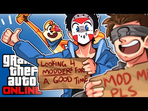 GTA 5 - ATTACKING MODDERS, SUPER SPEED & TIME TRAVEL!!! (Funny Moments & Hackers)